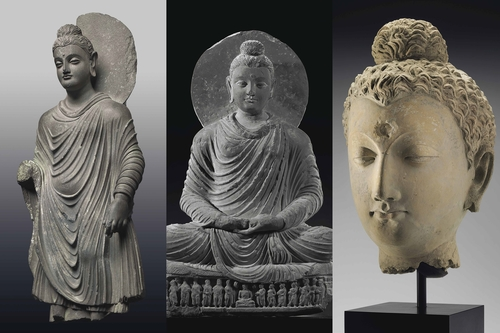 Greco Buddhist Art Gandhara Figures At Christie S New York Auctions News The Value Art News