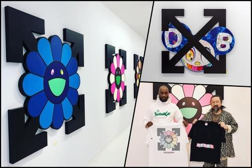 09ddea5878c Takashi Murakami X Virgil Abloh Exhibition Takes Place in Gagosian Paris |  Exhibitions | THE VALUE | Art News