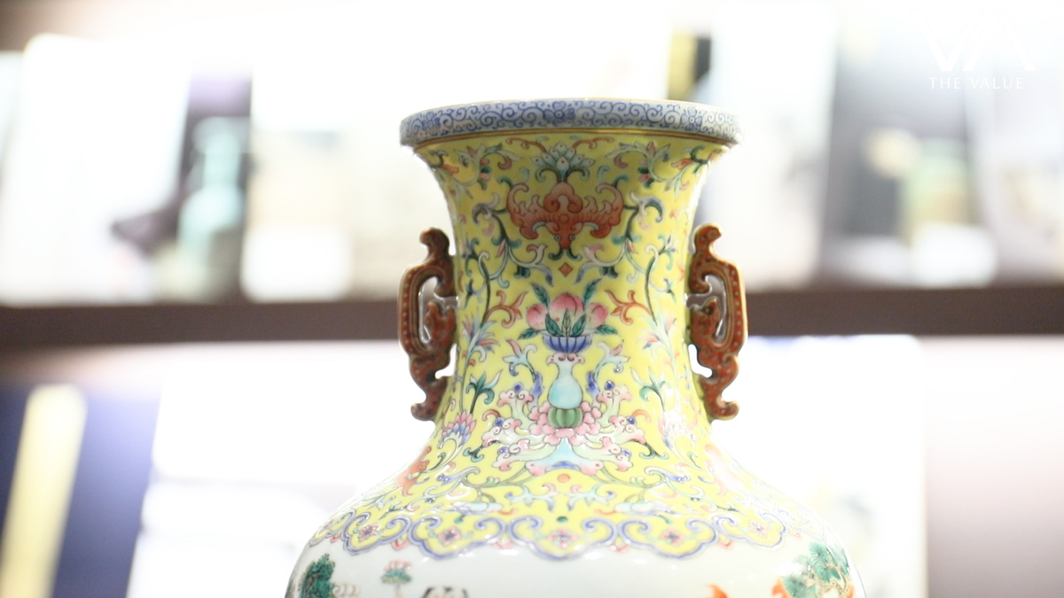 The review with william chak flower basket plate and yellow w this vase would likely be identified as a vase from qianlong period if one did not actually touch and feel it why is that reviewsmspy