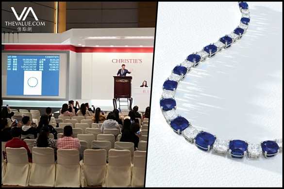 World S Most Expensive Kashmir Sapphire Necklace A 109 Carat