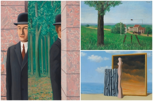 Five Magritte Paintings That Lead Christies Surreal Evening Sale In