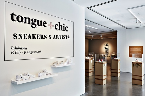 Phillips' 'Tongue + Chic' Sneaker Exhibition in NYC