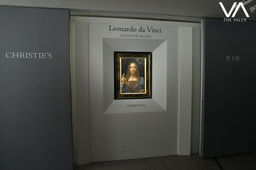 Leonardo Da Vinci's Salvator Mundi Makes Appearance in Hong