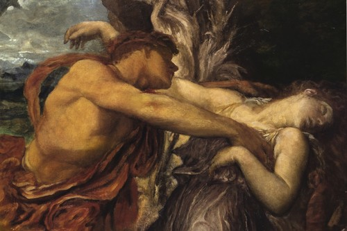 Grief of a Greek hero, a painting of the Orpheus and Eurydice myth was  hammer down at £260,000   Auctions News   THE VALUE   Art News