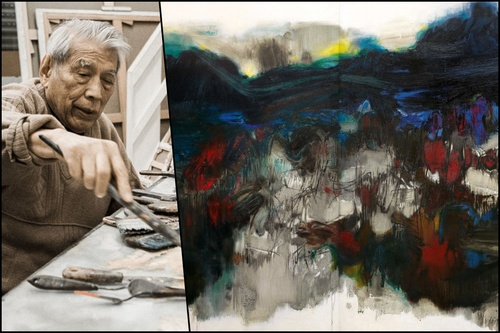 Hammer Down Auctions >> Chu Teh-Chun's HK$120m Painting Set to Break Auction ...