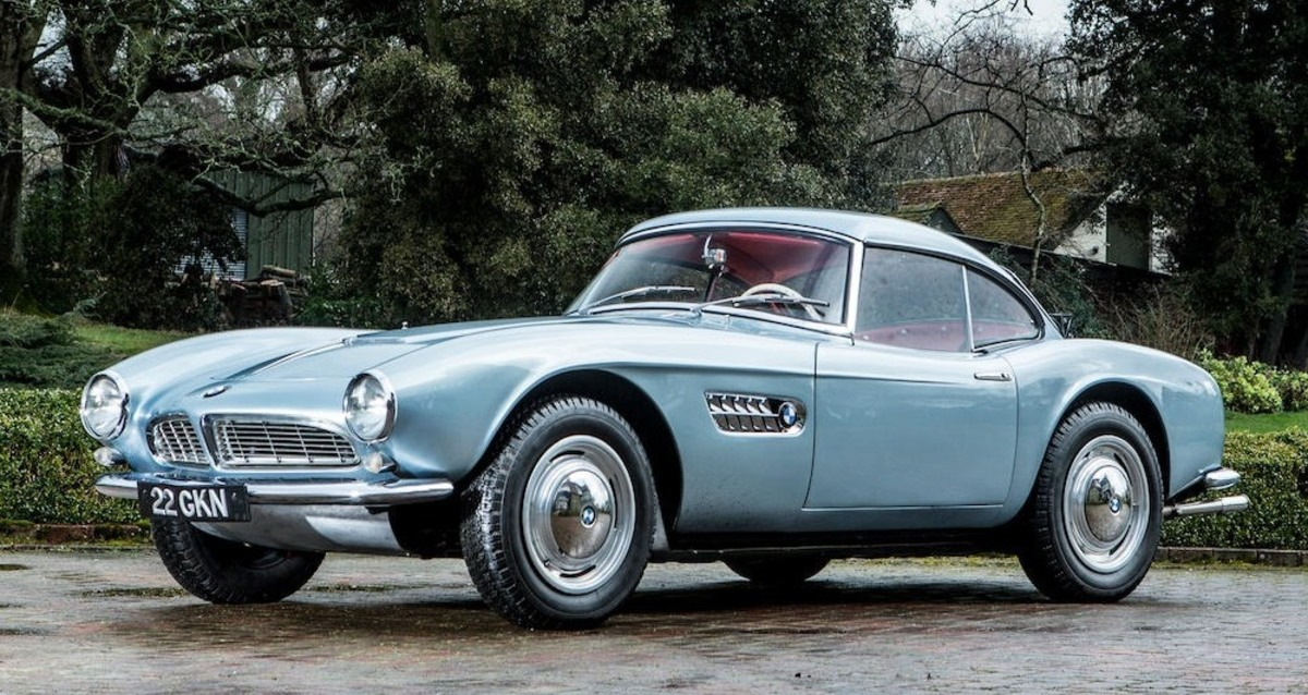 1957 BMW 507 Roadster That Almost Bankrupted BMW | Auctions News | THE  VALUE | Art News